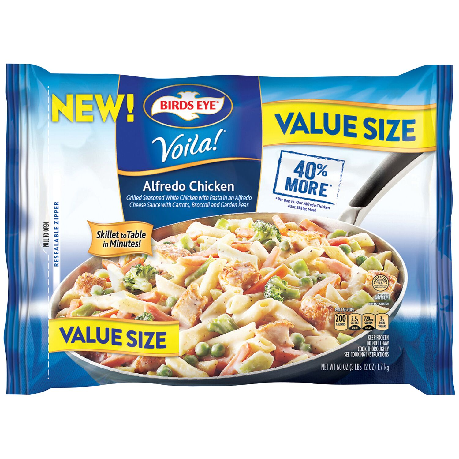 Birds Eye® Voila!® Alfredo Chicken Value Size