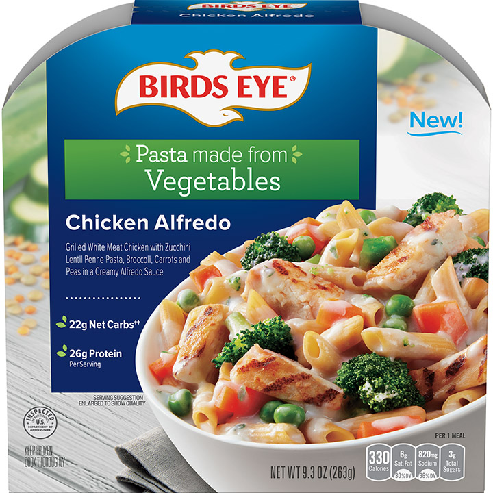 Birds Eye Chicken Alfredo Bowl