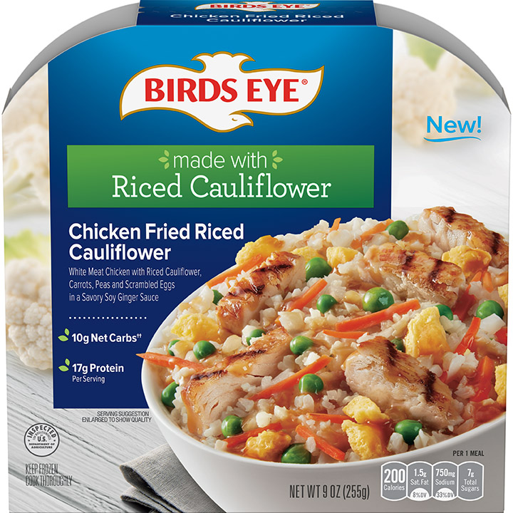 Birds Eye Chicken Fried Riced Cauliflower Bowl