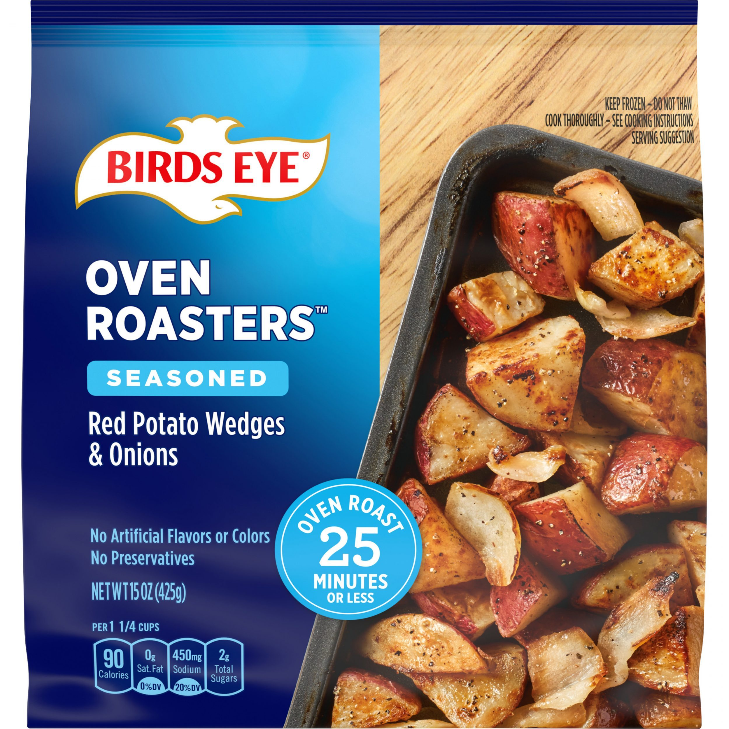 Birds Eye OvenRoasters™ Sheet Pan Vegetables Red Potatoes & Onions
