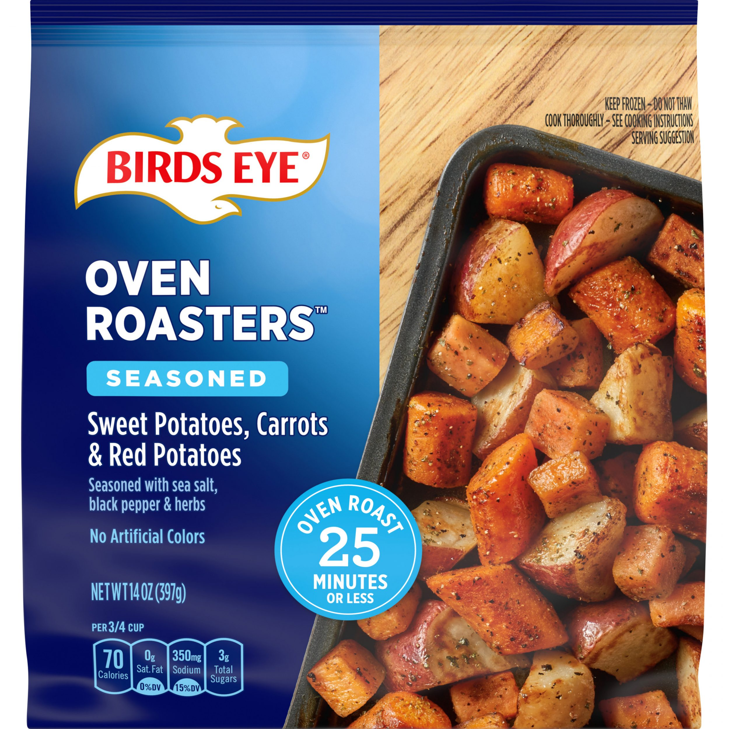 Birds Eye OvenRoasters™ Sheet Pan Vegetables Sweet Potatoes, Carrots & Red Potatoes