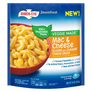 Birds Eye Steamfresh Veggie Made™ Mac & Cheese Elbows With Cheddar Cheese