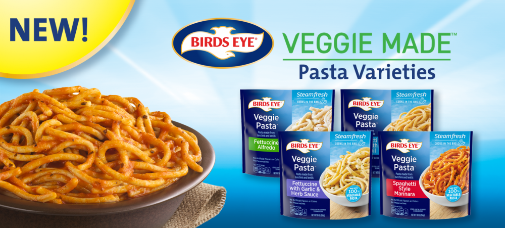 Try our new Veggie Made™ Pasta varieties